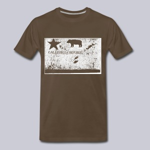 Original California Flag - Men's Premium T-Shirt