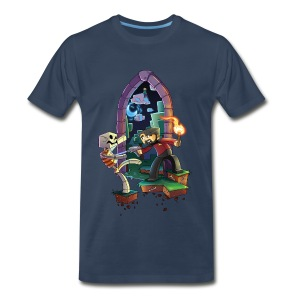 Big/Tall Mens Tee: Brave Xephos - Men's Premium T-Shirt