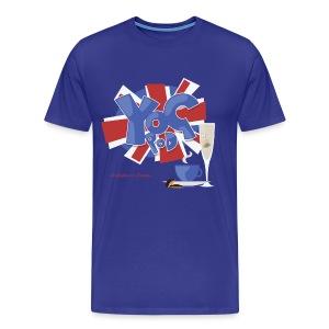 Big/Tall Mens Tee: YoGPoD Logo - Men's Premium T-Shirt