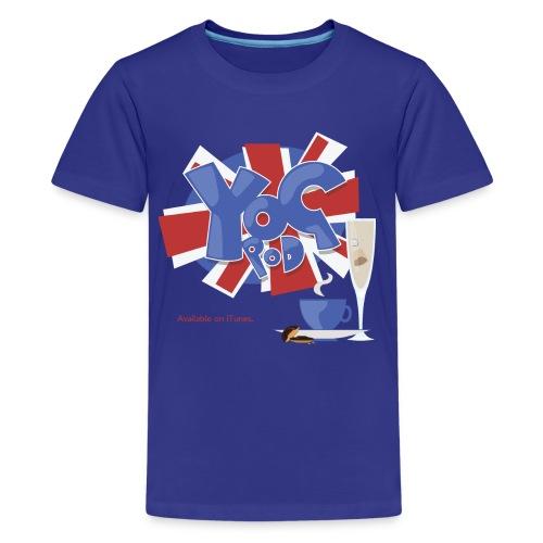 Kids Tee: YoGPoD Logo - Kids' Premium T-Shirt