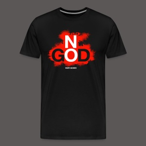 NO GOD - Men's Premium T-Shirt