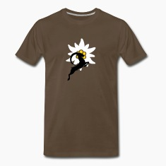 Ibex Capricorn with Edelweiss T-Shirts