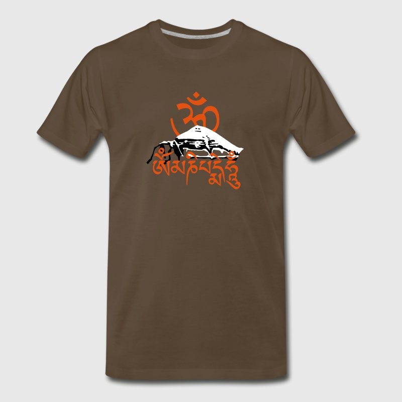 Mt. Kailash - Mantra T-Shirts - Men's Premium T-Shirt