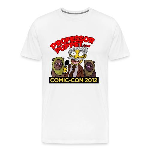 PROFESSOR PUPPET SHIRT - COMIC CON 2012 - Men's Premium T-Shirt