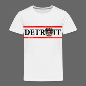 Detroit Austrian Flag - Toddler Premium T-Shirt