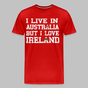 Live Austalia Love Ireland - Men's Premium T-Shirt