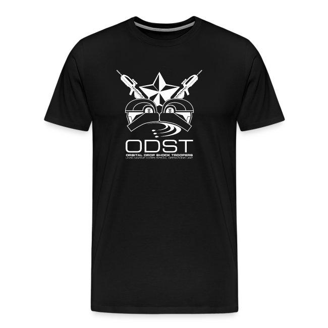 ODST Unit Emblem dark mens shirt