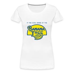 Banana Tree (Fee) (Womens) - Women's Premium T-Shirt