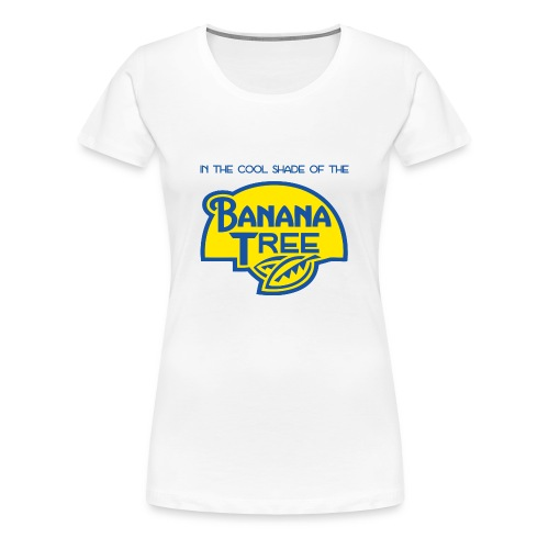 Banana Tree (Fee) (Womens) - Women's Premium T-Shirt