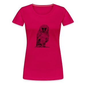 Single Owlet - Women's Premium T-Shirt