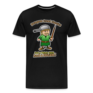 Pointy Stick and a Dream! - Men's Premium T-Shirt