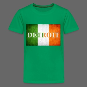 Detroit Irish Flag - Kids' Premium T-Shirt