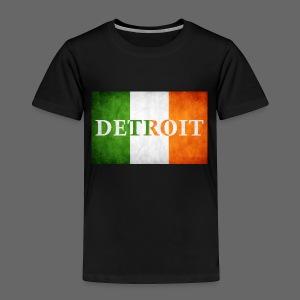 Detroit Irish Flag - Toddler Premium T-Shirt
