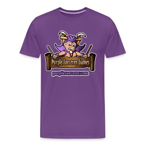 Purple Sorcerer Logo - Men's Premium T-Shirt