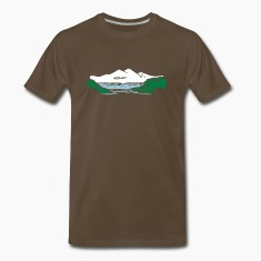 Mountain lake T-Shirts