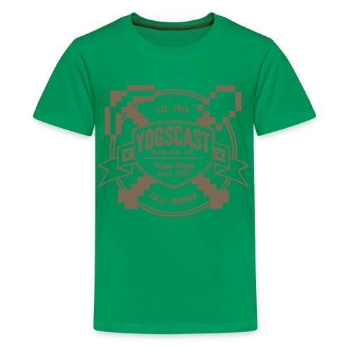 Kids Tee: Mining Co. - Kids' Premium T-Shirt