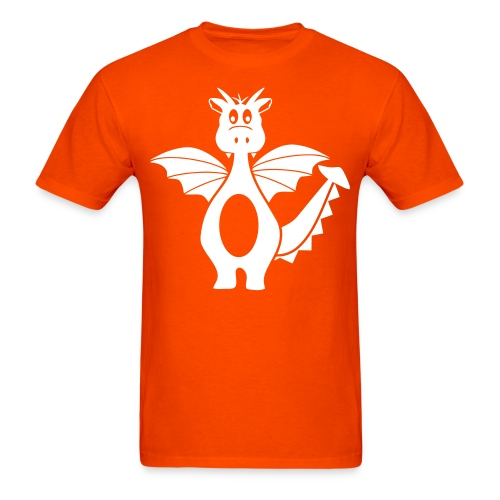 AYDS? Orange - Men's T-Shirt
