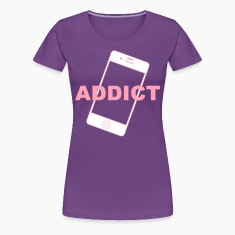 Phone Addict Women's T-Shirts