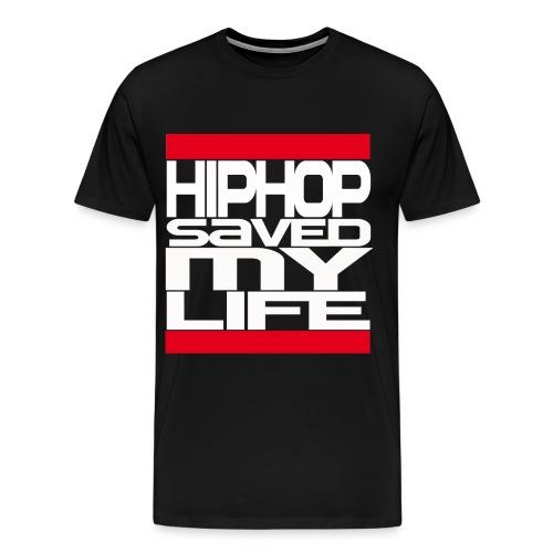 hiphop (blk) - Men's Premium T-Shirt