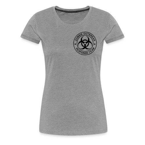Grey-Zombie Outbreak Response Team  - Women's Premium T-Shirt
