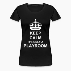keep calm crown Women's T-Shirts