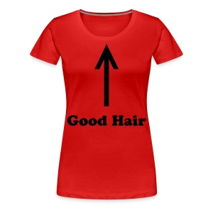 SN&LI! Valery's Good Hair Curvy Girl T~Shirt - Women's Premium T-Shirt