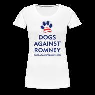 Women's T-Shirts ~ Women's Premium T-Shirt ~ Official Dogs Against Romney