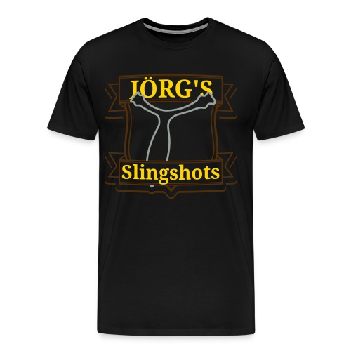 Jörgs Slingshot's Siver and Gold - Men's Premium T-Shirt