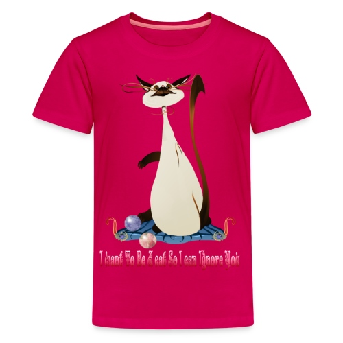 I Want To Be A Cat.... - Kids' Premium T-Shirt
