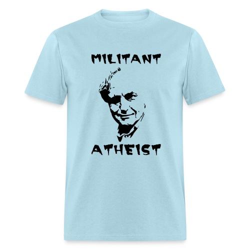 militant atheist - Men's T-Shirt