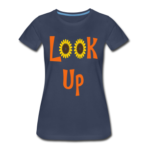 Look Up - Women's Premium T-Shirt