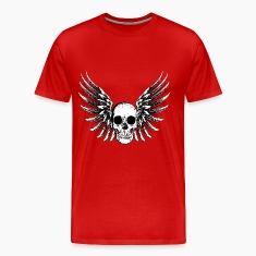 Winged Skull T-Shirts