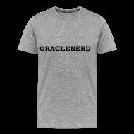T-Shirts ~ Men's Premium T-Shirt ~ ORACLENERD on Ash