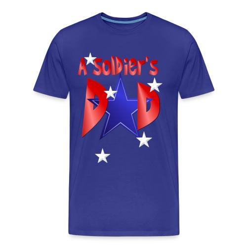 A Soldiers Dad - Men's Premium T-Shirt