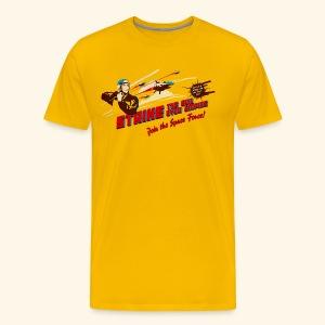 Join the Space Force! (Vintageprint) - Men's Premium T-Shirt