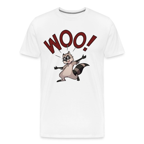 Woo! (Heavyweight) - Men's Premium T-Shirt