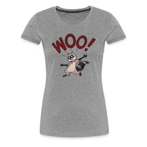 Woo! (Woman Classic) - Women's Premium T-Shirt