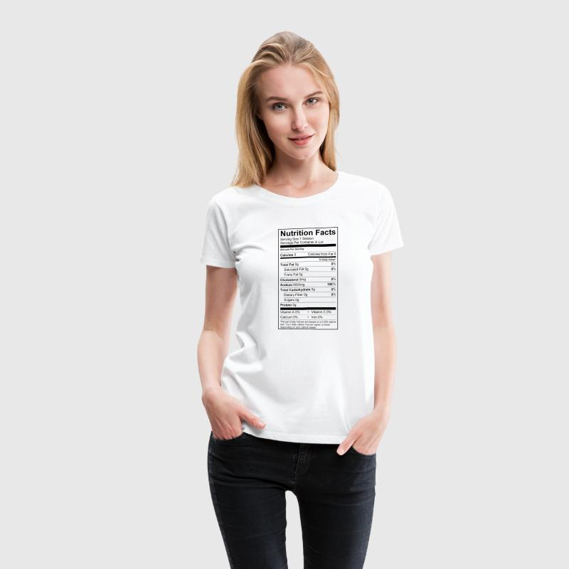 High Sodium Levels Women's T-Shirts - Women's Premium T-Shirt
