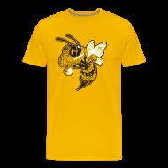 T-Shirts ~ Men's Premium T-Shirt ~ Corner Yellow Jacket