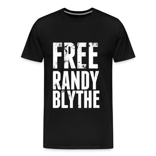 Free Randy Blythe (Black) - Men's Premium T-Shirt