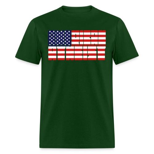 american atheist - Men's T-Shirt