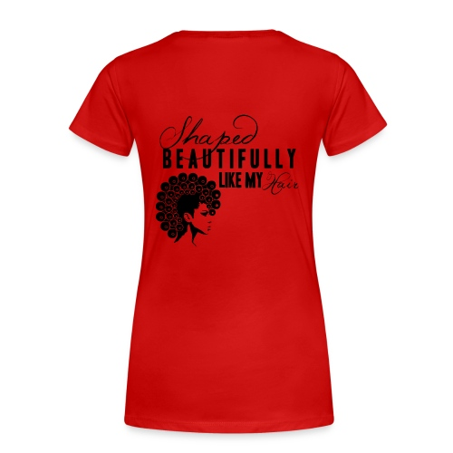 Beautiful Hair - Women's Premium T-Shirt