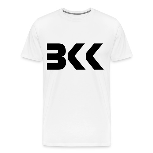 BKK white - Men's Premium T-Shirt