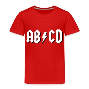 ABCD - Toddler Premium T-Shirt