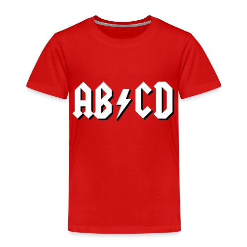 ABCD - Toddler Premium T-Shirt