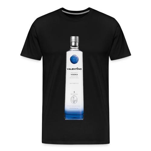 Valentino Brand Blue Label - Men's Premium T-Shirt