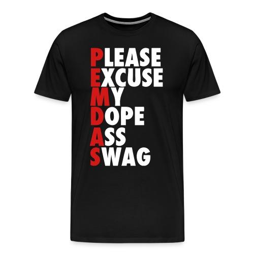 PEMDAS - Men's Premium T-Shirt