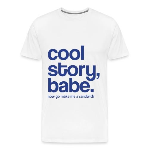 Men's Tee-Shirt - Men's Premium T-Shirt