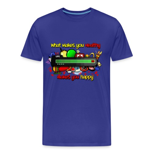 HEALTHy shirt - Men's Premium T-Shirt