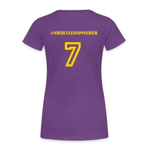 #ShirtlessPonder - Women - Women's Premium T-Shirt